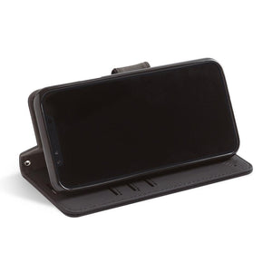 Black iPhone 11 Pro Ant-radiation Wallet Case with Stand