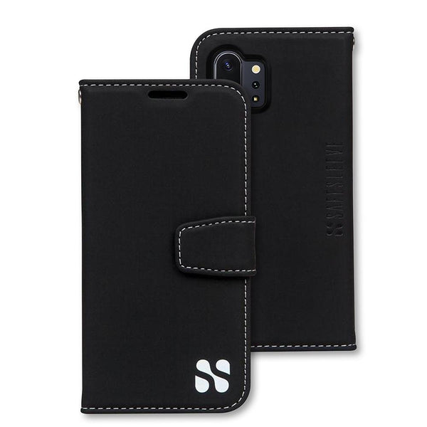 anti-radiation and RFID Blocking wallet case for the Samsung Galaxy Note 10+ (PLUS)