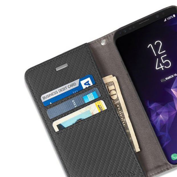 Anti-Radiation and RFID Blocking Wallet Case for Samsung Galaxy S10