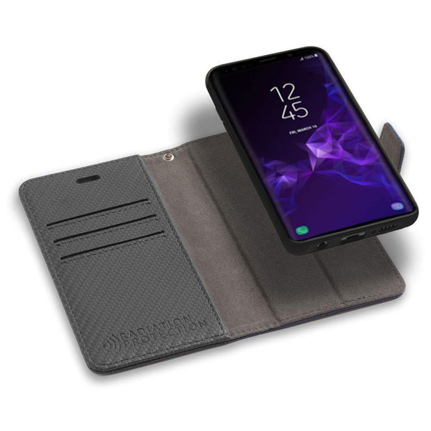 Samsung Galaxy S10 Detachable Anti-Radiation Wallet Case