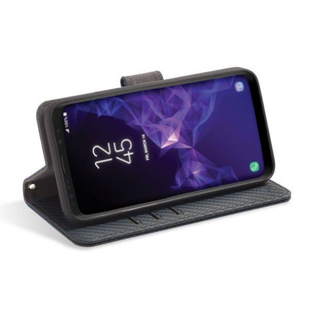 Samsung Galaxy S10e RFID blocking wallet with convertible stand