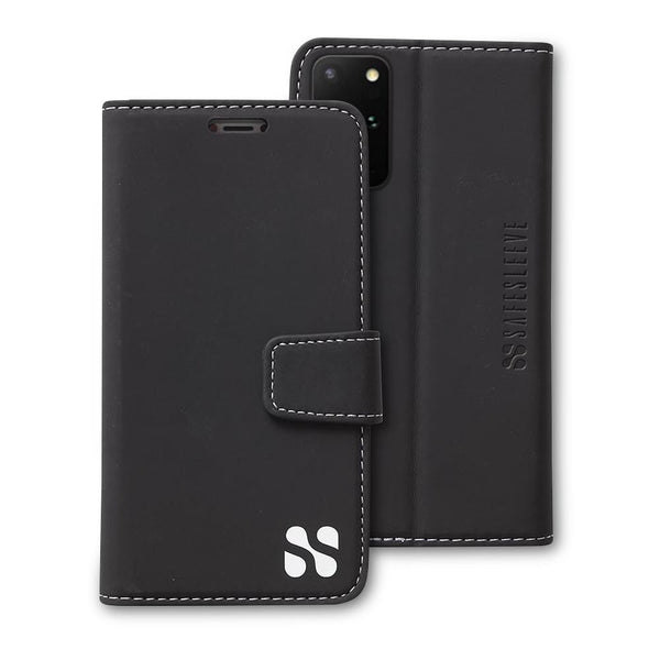 black SafeSleeve for Samsung Galaxy S20 Plus
