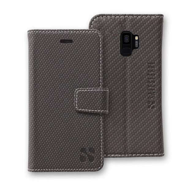 SafeSleeve Samsung Galaxy S9 Detachable Wallet Case