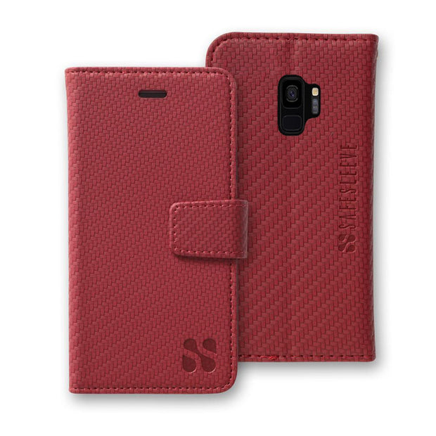Red Detachable Anti-Radiation and RFID Blocking Case