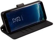 Samsung Galaxy S8 RFID blocking wallet turns into a stand