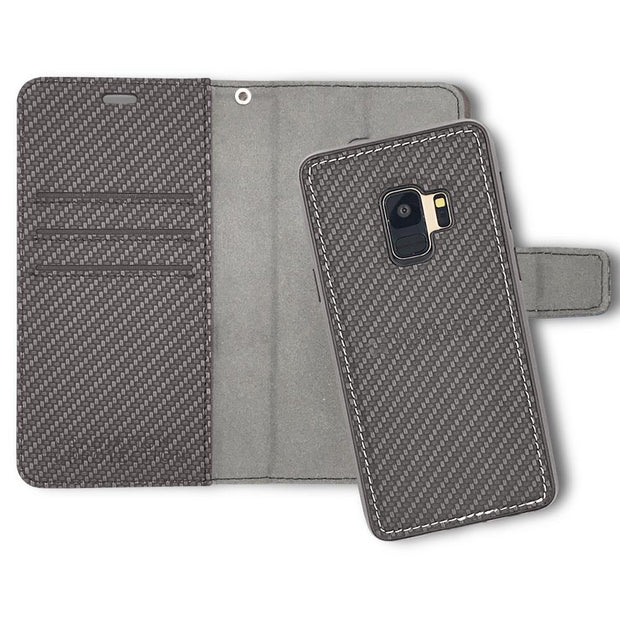 SafeSleeve Samsung Galaxy S9 Detachable RFID blocking wallet