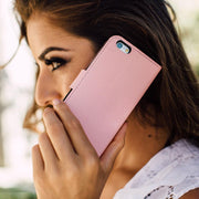 Pink iPhone 11 Anti-Radiation Wallet Case