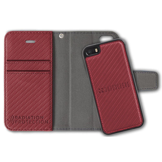 Red Anti-Radiation and RFID Blocking iPhone SE & 5/5s Case