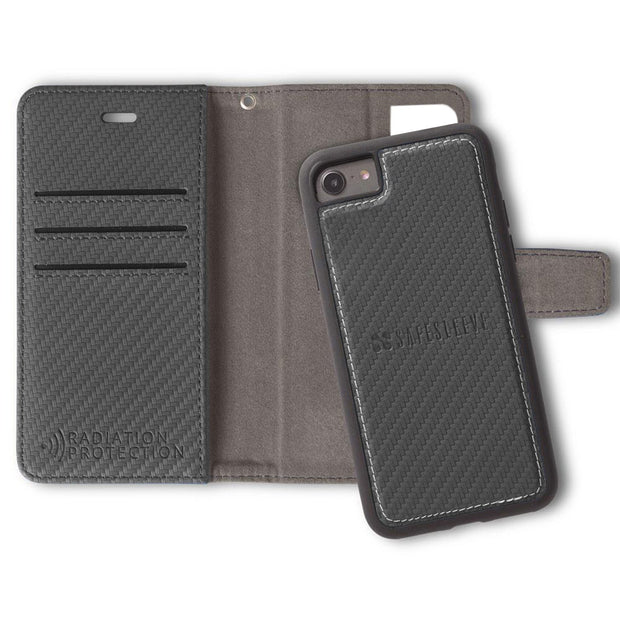 SafeSleeve Detachable Wallet Case for iPhone 6/6s, 7 & 8