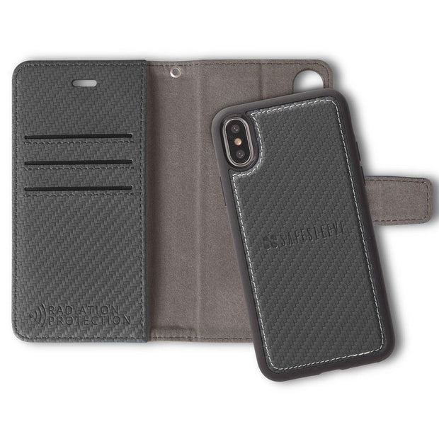 SafeSleeve Detachable Anti-Radiation and RFID Blocking iPhone X/Xs Case