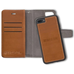 Brown Wallet Case for the iPhone 6 Plus, 6s Plus, 7 Plus & 8 Plus