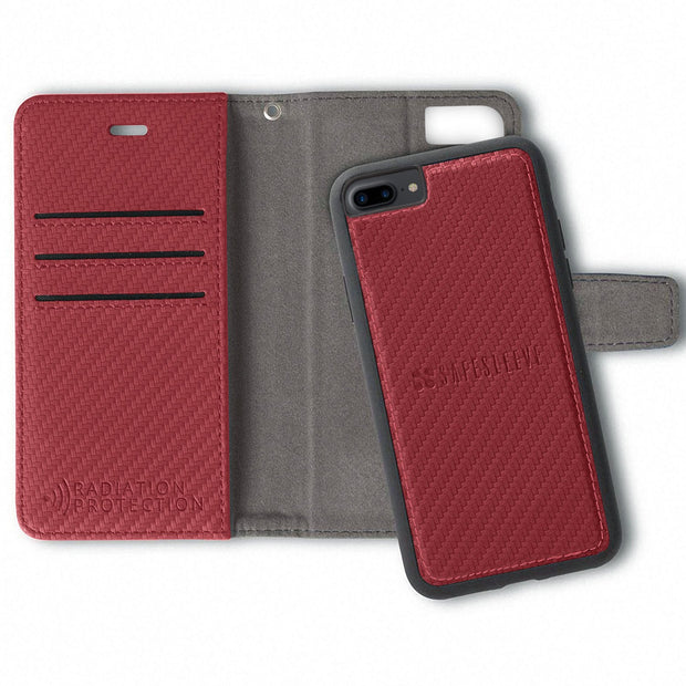 Red iPhone 6 Plus/6s Plus, 7 Plus & 8 Plus Detachable Case