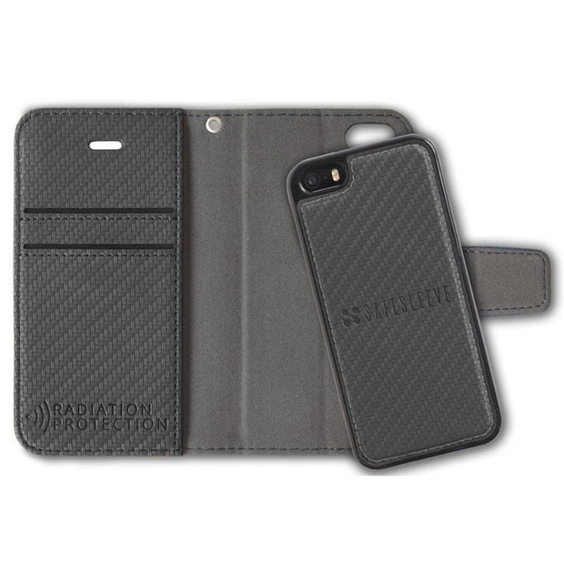 Anti-Radiation and RFID Blocking Detachable iPhone SE, 5, and 5s Case