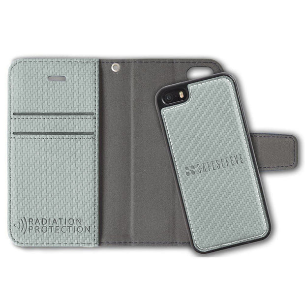 Grey SafeSleeve iPhone SE, 5, and 5s Detachable Case