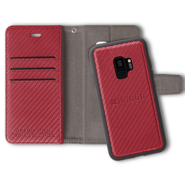 Red SafeSleeve Samsung Galaxy S9 Detachable