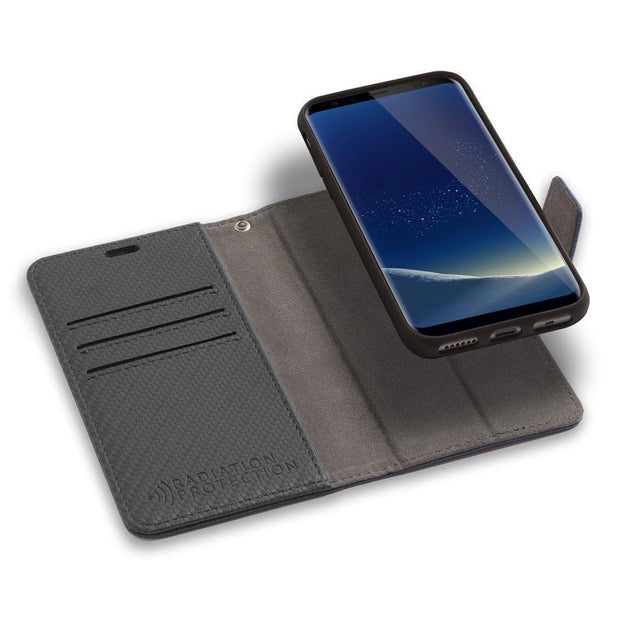 Samsung Galaxy S9 Detachable Anti-Radiation Wallet Case
