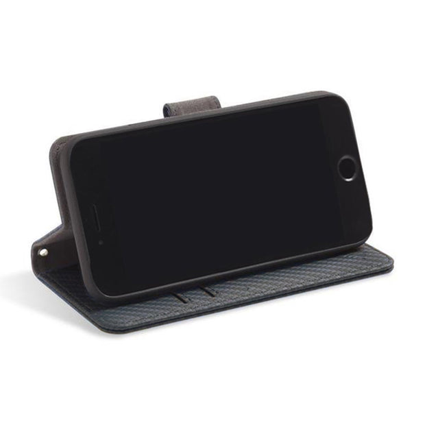 RFID blocking wallet with convertible stand