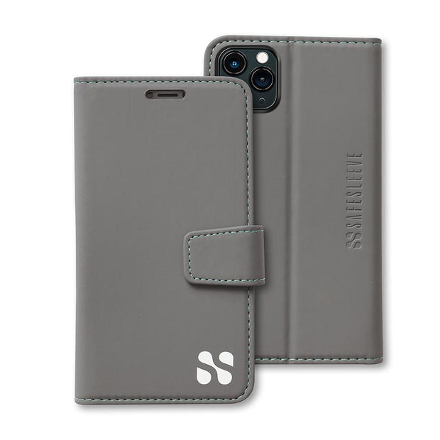 Grey SafeSleeve iPhone 11 Pro MAX Wallet Case