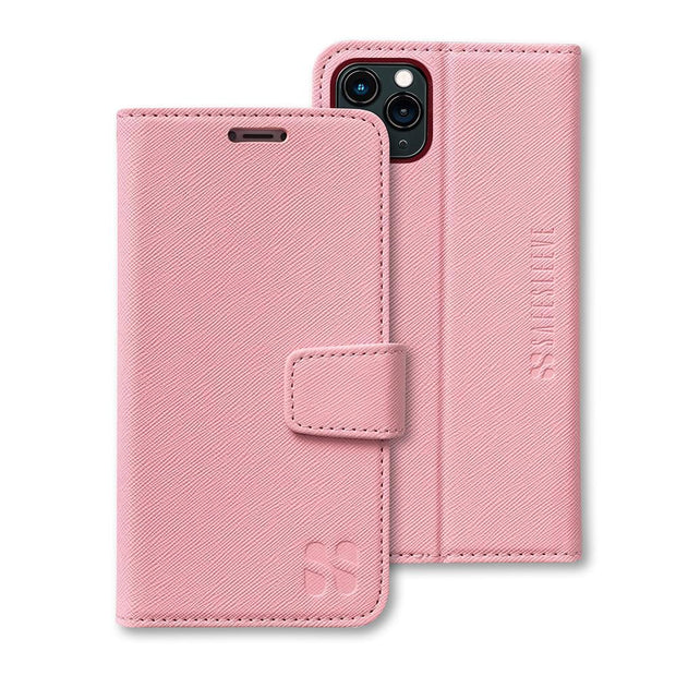 Pink SafeSleeve Anti-radiation iPhone 11 Pro Wallet Case