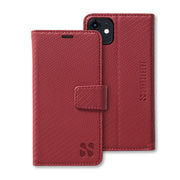 Red Detachable Wallet Case for iPhone 11