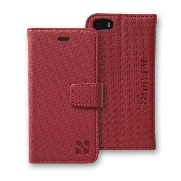 Red iPhone SE, 5, and 5s Anti-Radiation Wallet