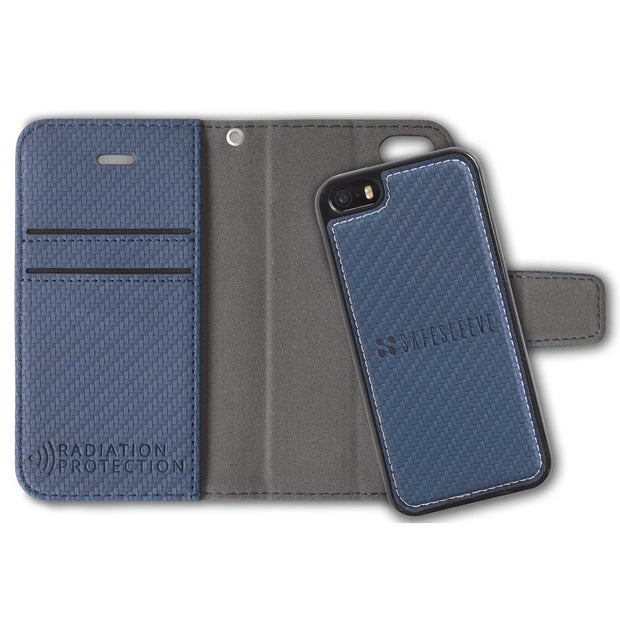 Detachable iPhone SE & 5/5s Anti-Radiation and RFID Blocking Wallet