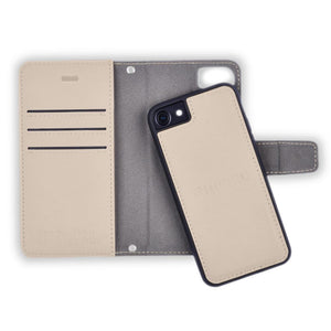 Khaki iPhone 6 Plus/6s Plus, 7 Plus & 8 Plus Anti-Radiation Wallet Case