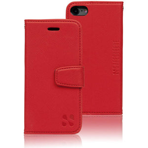 SafeSleeve anti cell phone radiation and rfid wallet case for iphone 6 or 6s - red