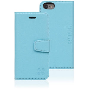 SafeSleeve anti cell phone radiation and rfid wallet case for iphone 6 or 6s - blue
