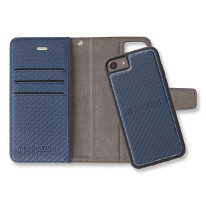 Blue SafeSleeve Detachable Wallet Case for iPhone 6 Plus/6s Plus, 7 Plus & 8 Plus