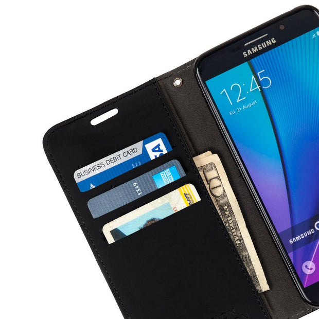 anti-radiation wallet case for the Samsung Galaxy S5, S7 edge, Note 5, J3/J310/J320 (2016) and J7 Prime (SM-G610FZDDPAK).