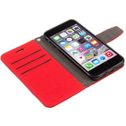red iPhone 6/6s, 7 & 8 anti-radiation and RFID blocking wallet case