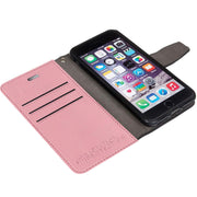 light pink RFID blocking wallet case for iPhone 6/6s, 7 & 8