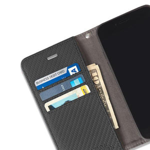 Anti-Radiation and RFID Blocking iPhone 6, 6s, 7 & 8 Wallet Case