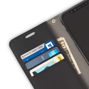 Black Google Pixel RFID Blocking Wallet Case