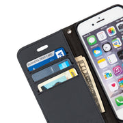 grey anti-radiation wallet case for iPhone 6/6s, 7 & 8