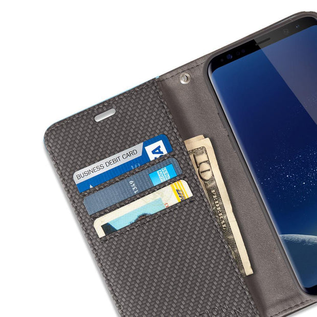 Samsung Galaxy S8 Plus Anti-Radiation Wallet Case
