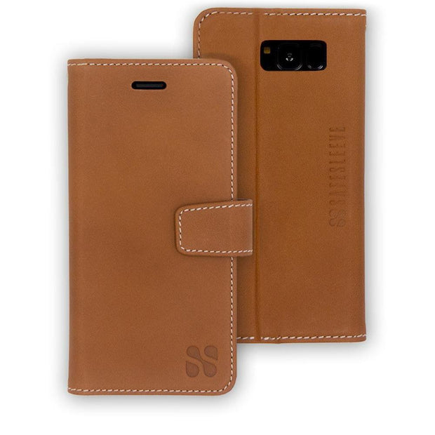 leather Samsung Galaxy S8 anti-radiation case