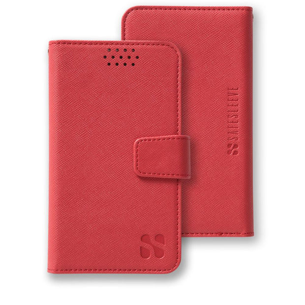Red Anti-Radiation and RFID blocking Wallet Case for Samsung, HTC, LG, Motorola, Xiaomi, Nexus