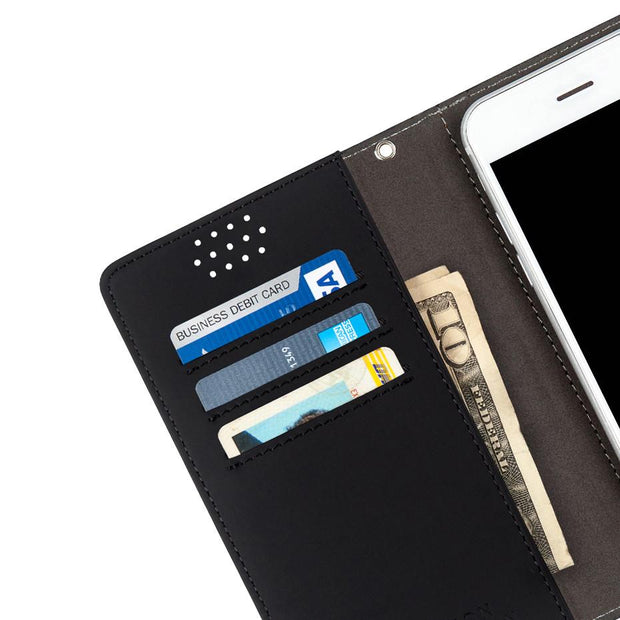 Anti-Radiation and RFID blocking Wallet Case for Samsung, HTC, LG, Motorola, Xiaomi, Nexus