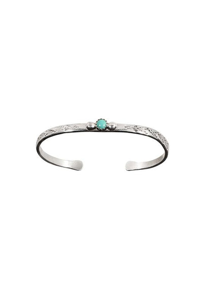 Silver & Turquoise Cuff Bracelet