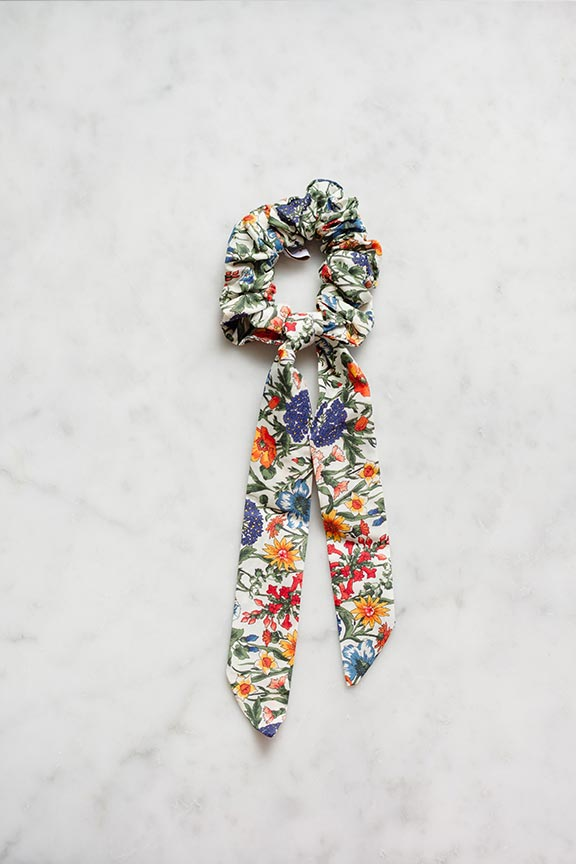Eva's House x Tessa James Liberty Floral Scrunchie