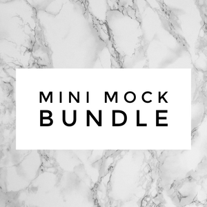 Whole Shabang Mini Mock Bundle