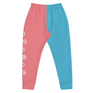 Mixed Emotions Joggers (Blue/Pink)