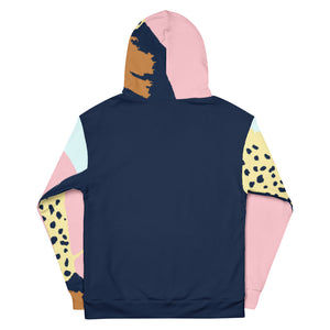 Inspired By Dreams Hoodie / Paint Swatch Color Block