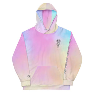 Open image in slideshow, Perfectly Imperfect Hoodie / Riding Solo Edition (Cotton Candy)