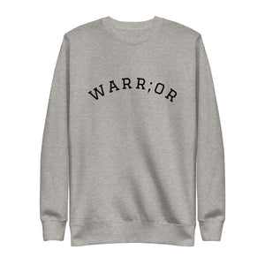 Warr;or Fleece Crewneck