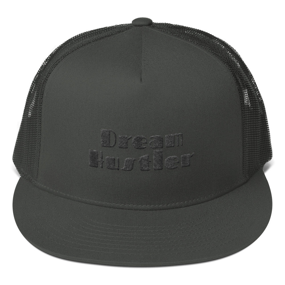 DREAM HUSTLER Mesh Back Snapback