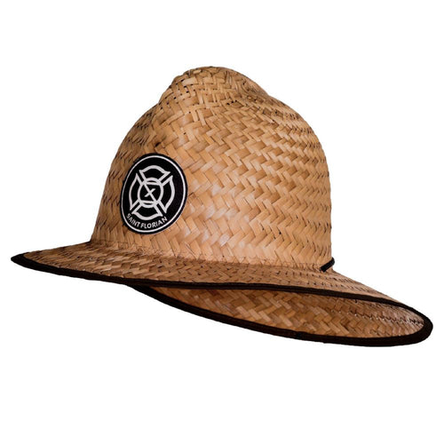 Straw Firefighter Hat- Large/XL 60cm - Saint Florian Clothing