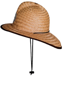 Straw Firefighter Hat